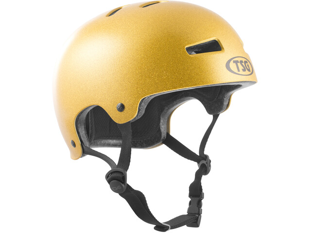 TSG Evolution Special Makeup Helmet Herren goldie
